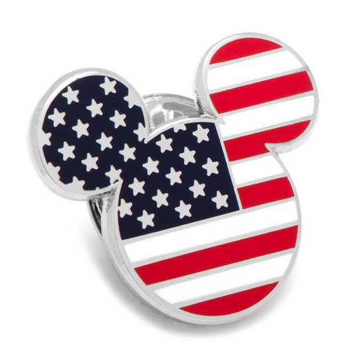 DN-MUSA-LP: Stars and Stripes Mickey Mouse Lapel Pin