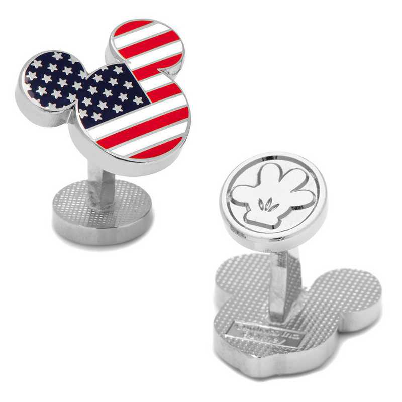 DN-MUSA-SL: Stars and Stripes Mickey Mouse Cufflinks