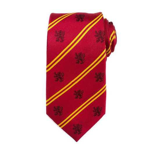 HP-GRYST-RD-TR: Gryffindor Pinstripe Tie