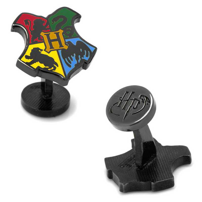 HP-HGWRTS-BK: Hogwarts Shield Cufflinks