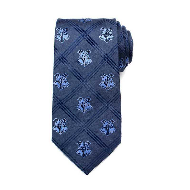 HP-HGWRTS-BL-TR: Hogwarts Plaid Tie