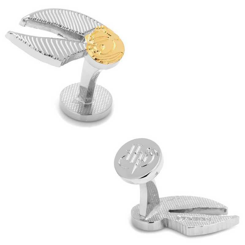 HP-SNITCH-2T: Golden Snitch Cufflinks