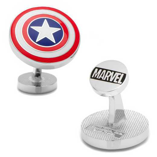 MV-CAS1-SL: Captain America Shield Cufflinks