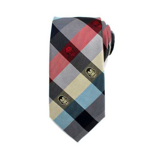 MV-ICNPLD-RWB-TR: Marvel Comics Plaid Men's Tie