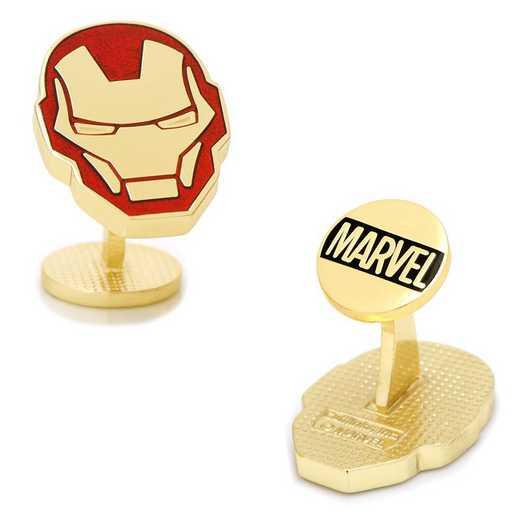 MV-IRMNH-GL: Iron Man Helmet Cufflinks