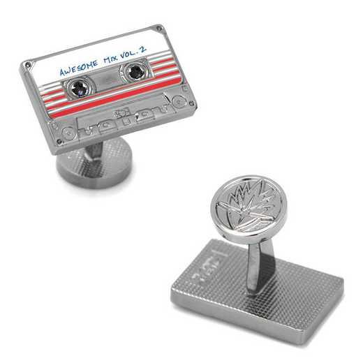 MV-MXTP-GM: Awesome Mix Tape No. 2 Cufflinks