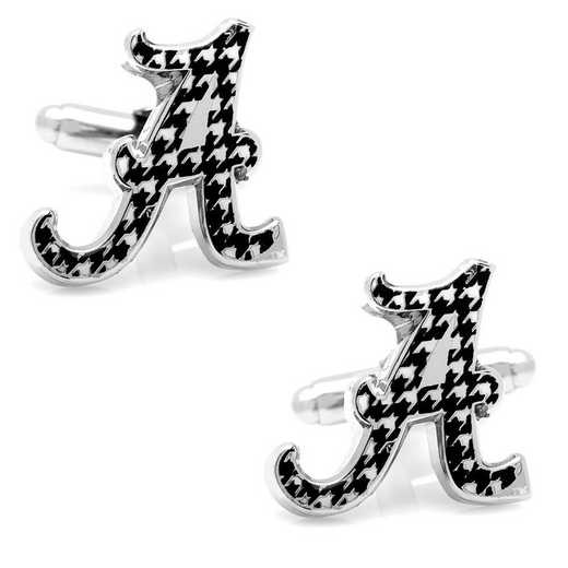 PD-AHND-SL: University of Alabama Houndstooth Cufflinks