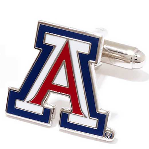 PD-AZ-SL: University of Arizona Wildcats Cufflinks