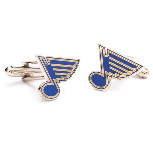 PD-BLU-SL: St. Louis Blues Cufflinks