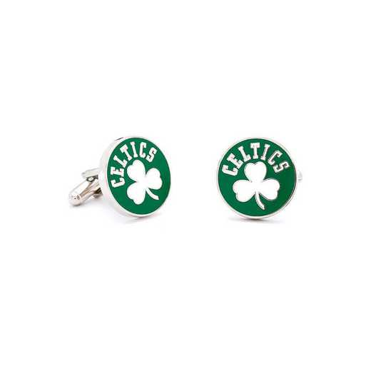 PD-CLT2-SL: Vintage Boston Celtics Cufflinks