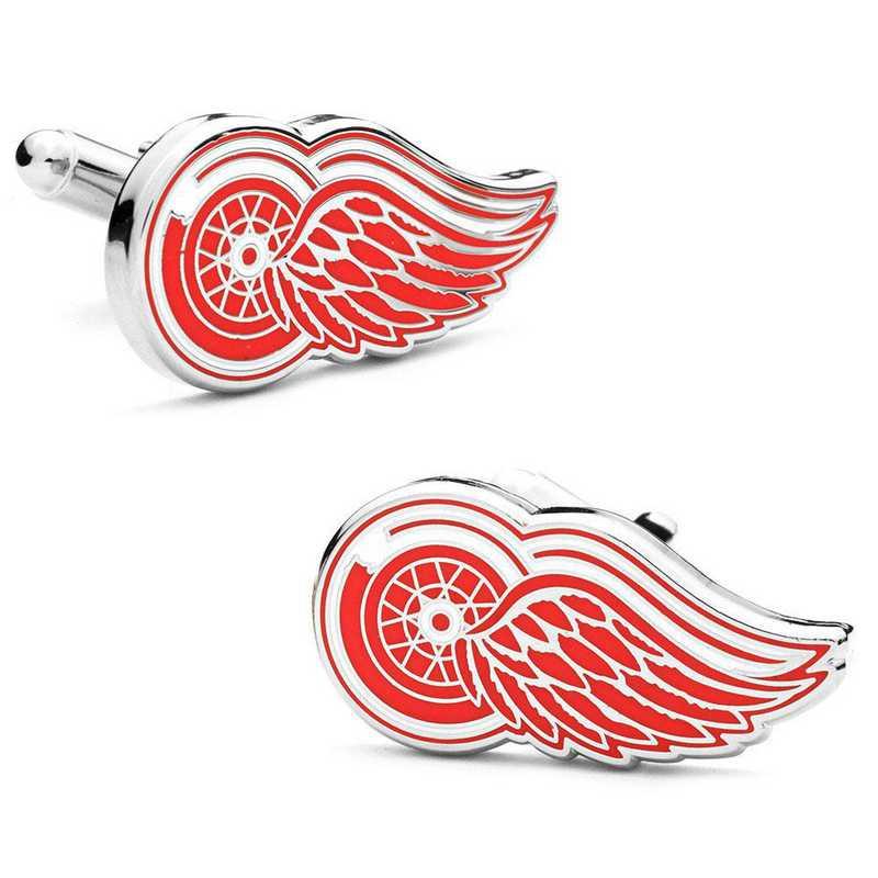 PD-DRW-SL: Detroit Red Wings Cufflinks