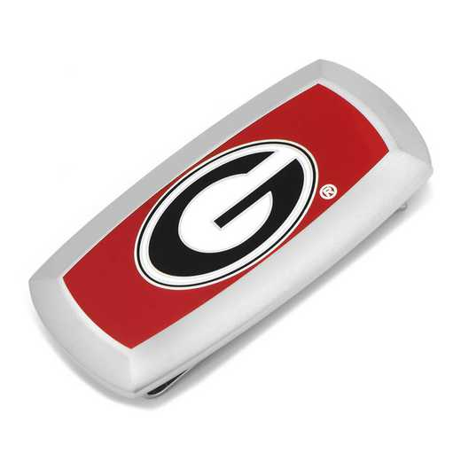 PD-GEO-MC2: University of Georgia Bulldogs Cushion Money Clip