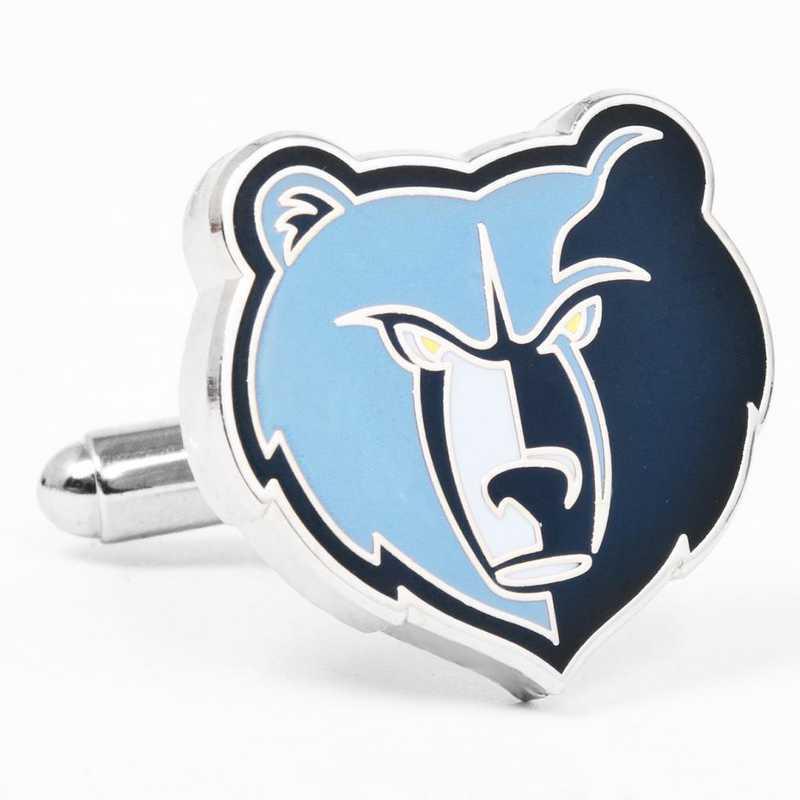 PD-GRIZ-SL: Memphis Grizzlies Cufflinks