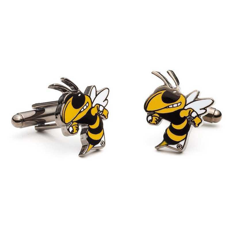 PD-GTC-SL: Georgia Tech Yellow Jackets Cufflinks