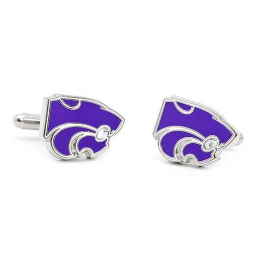PD-KSU-SL: Kansas State University Wildcats Cufflinks
