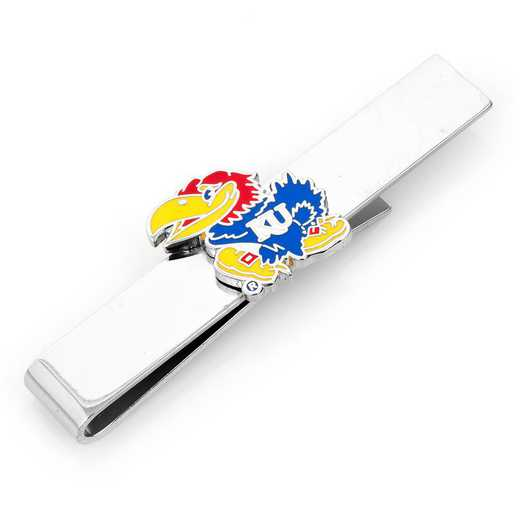 PD-KU-TB: University of Kansas Jayhawks Tie Bar