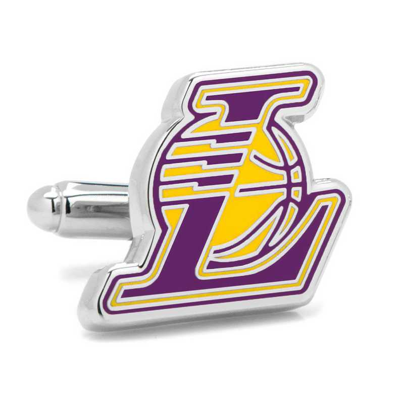 PD-LAL-SL: Los Angeles Lakers Cufflinks