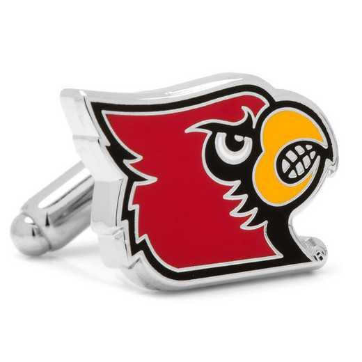 PD-LOU-SL: University of Louisville Cardinals Cufflinks
