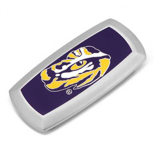PD-LSU-MC2: LSU Tiger's Eye Cushion Money Clip