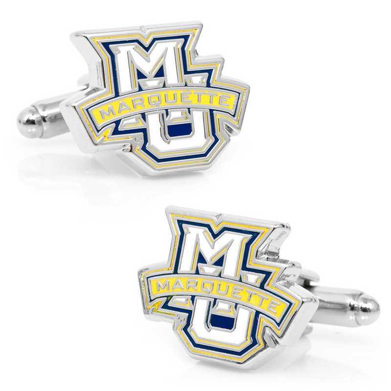 PD-MAR-SL: Marquette Golden Eagle Cufflinks