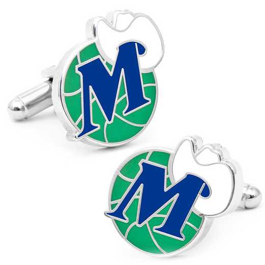 PD-MAV-SL: Vintage Dallas Mavericks Cufflinks