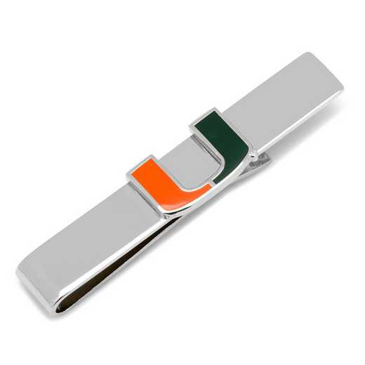 PD-MIA-TB: University of Miami Hurricanes Tie Bar