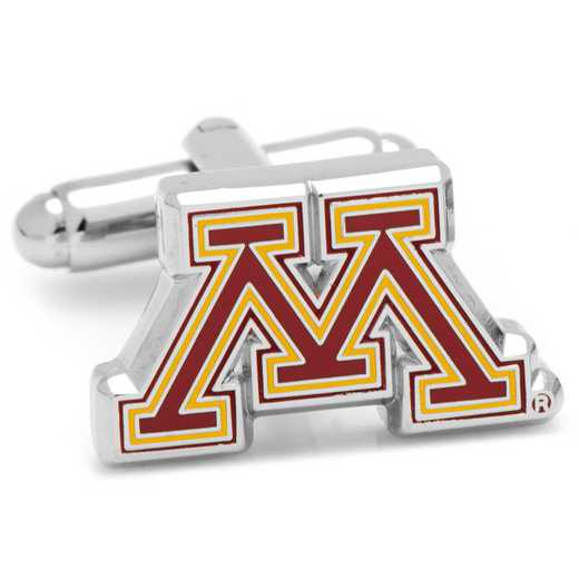PD-MINN-SL: Minnesota Golden Gopher Cufflinks