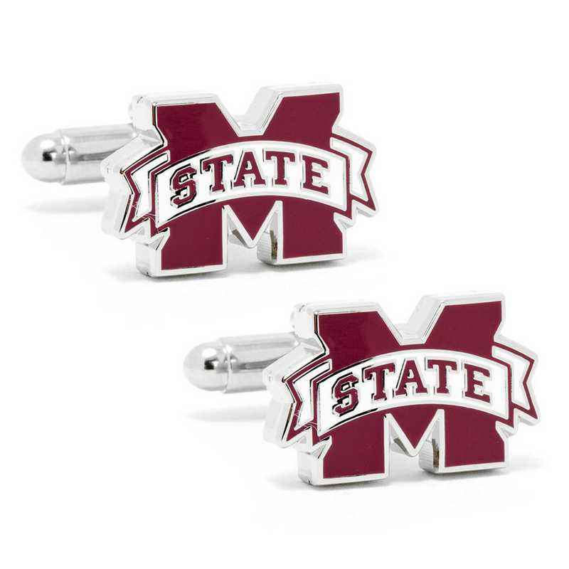 PD-MSS-SL: Mississippi State Bulldogs Cufflinks