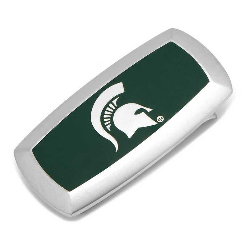 PD-MSU-MC2: Michigan State Spartans Cushion Money Clip