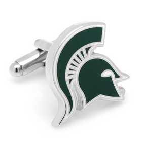 PD-MSU-SL: Michigan State Spartans Cufflinks