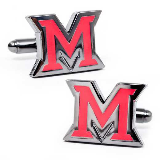 PD-MUO-GM: Miami University of Ohio Cufflinks
