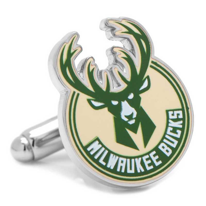 PD-MWB-SL: Milwaukee Bucks Cufflinks