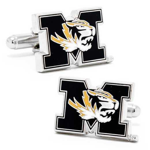 PD-MZO-SL: University of Missouri Tigers Cufflinks