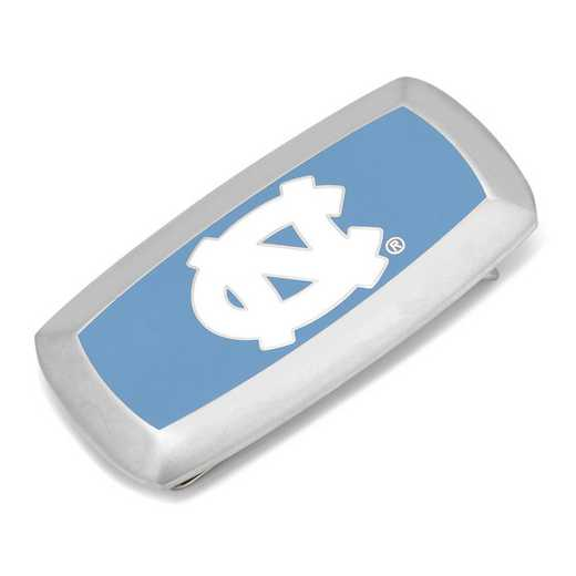 PD-NC-MC2: University of North Carolina Tarheels Cushion Money Clip