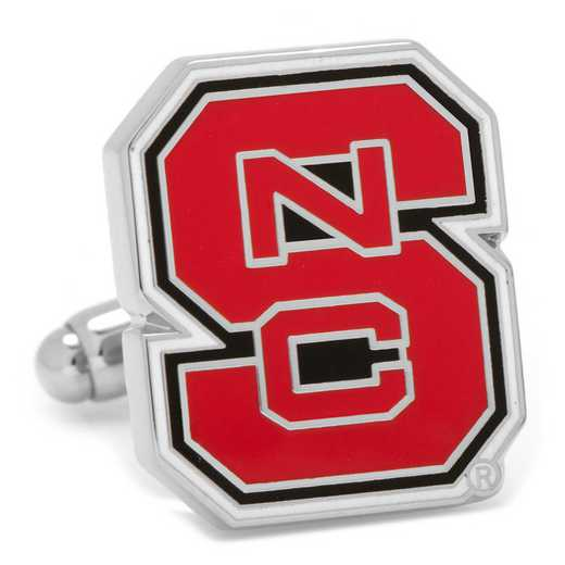 PD-NCSW-SL: North Carolina State Wolfpack Cufflinks
