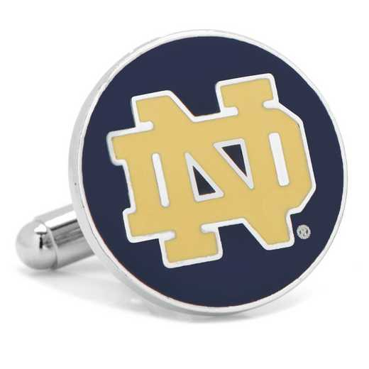 PD-ND3-SL: Notre Dame University Cufflinks
