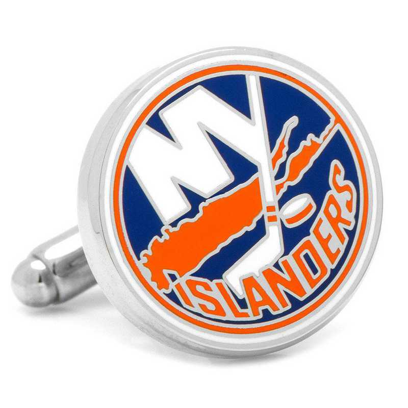 PD-NYI-SL: New York Islanders Cufflinks