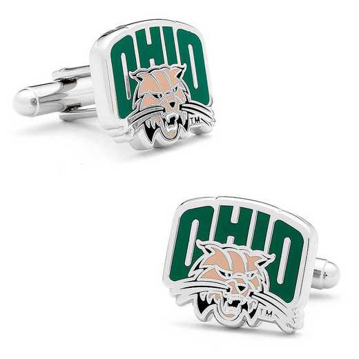 PD-OBC-SL: Ohio University Bobcats Cufflinks