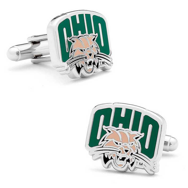 PD-OBC-SL: Ohio University Bobcats Cufflinks