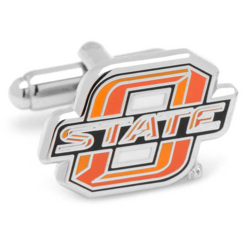 PD-OKST-SL: Oklahoma State University Cowboys Cufflinks
