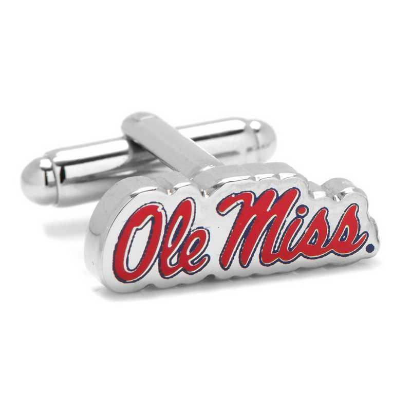 PD-OLE-SL: Ole Miss University Rebels Cufflinks