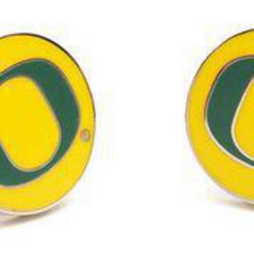 PD-ORE-SL: Oregon Ducks Cufflinks