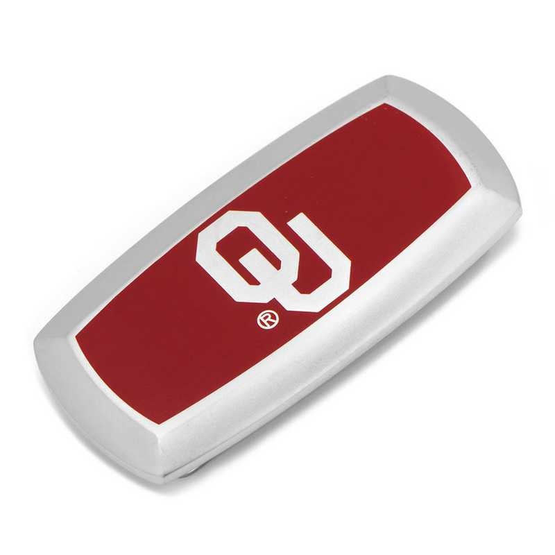 PD-OU-MC2: Oklahoma University Sooners Cushion Money Clip