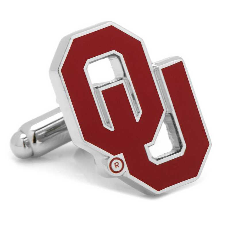 PD-OU-SL: University of Oklahoma Sooners Cufflinks