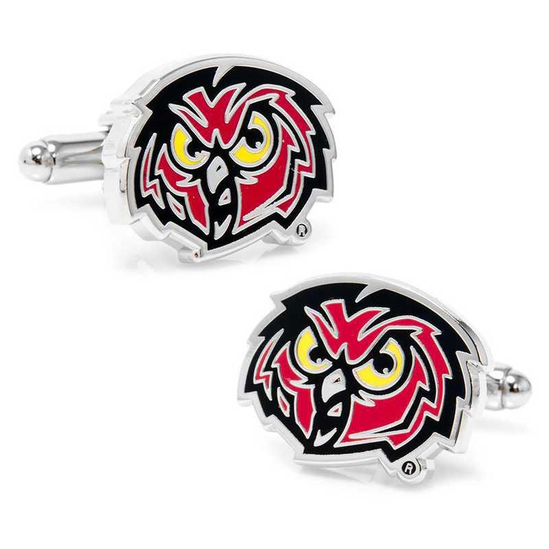 PD-OWLS-SL: Temple University Owls Cufflinks