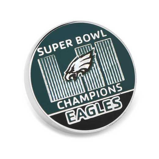 PD-PE18-LP: 2018 Philadelphia Eagles Super Bowl Champions Lapel Pin