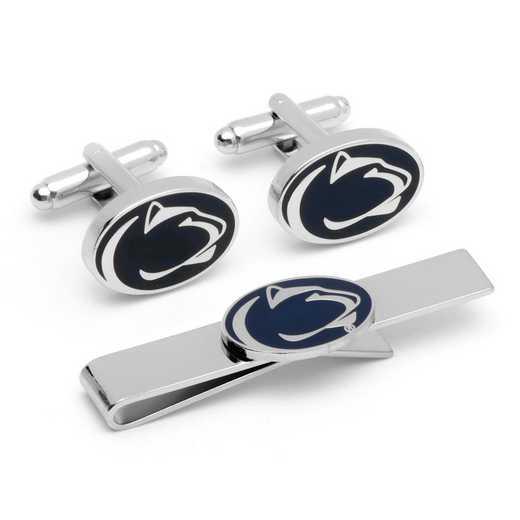 PD-PSU-CT: Penn State University Cufflinks and Tie Bar Gift Set