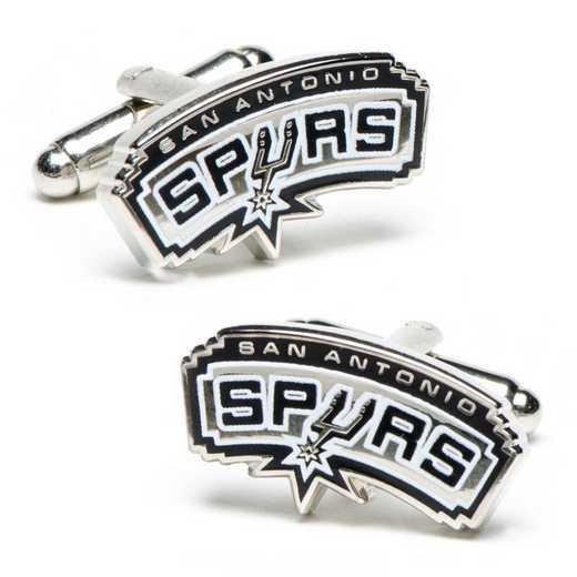 PD-SA-SL: San Antonio Spurs Cufflinks
