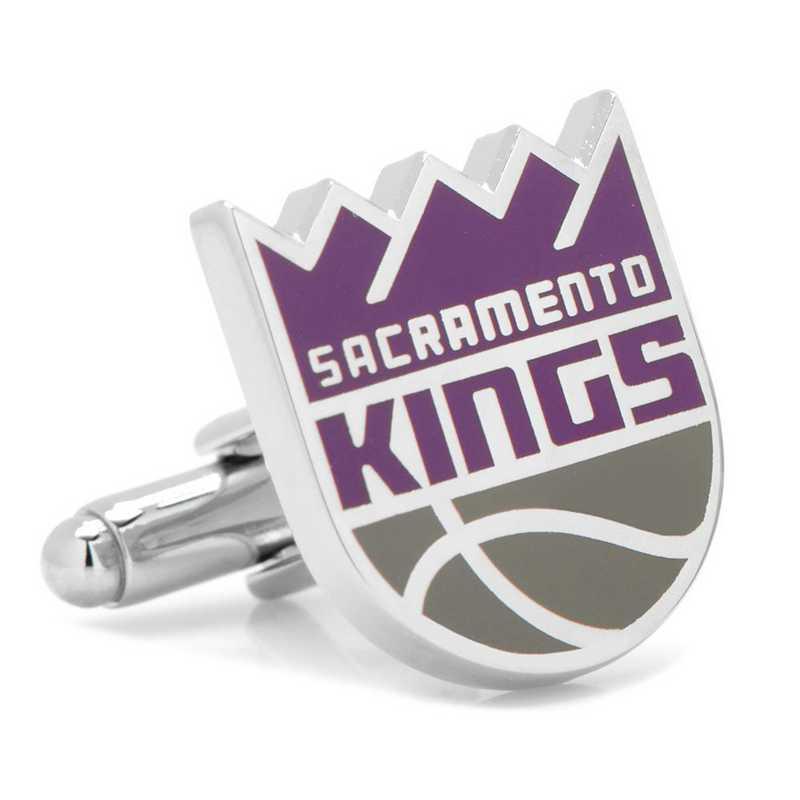 PD-SAC2-SL: Sacramento Kings Cufflinks