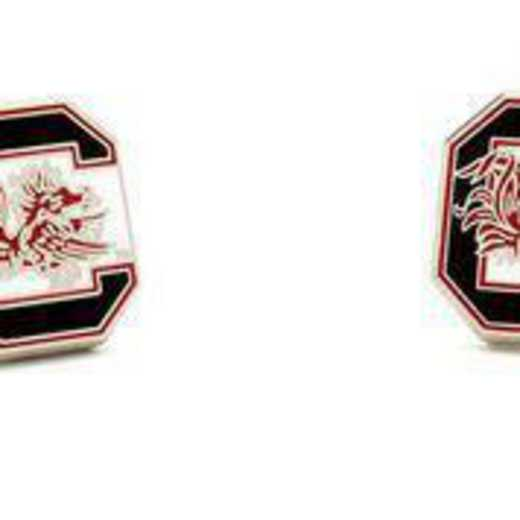 PD-SCA-SL: University of South Carolina Gamecocks Cufflinks